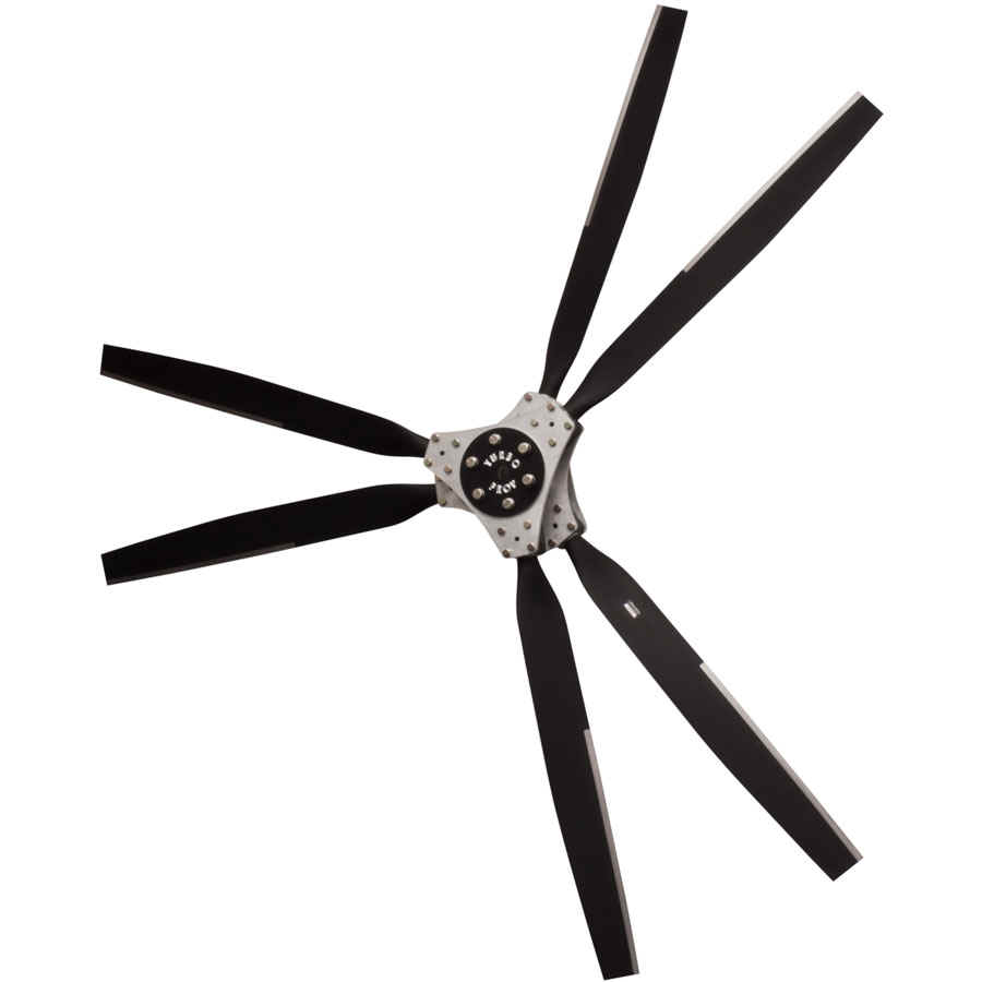 WARP DRIVE 6-BLADE AIRBOAT TURBO PROPELLER