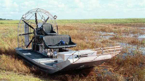 Warp Drive Propeller on Airboat